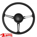 Steering Wheel with Horn Button CJ + Wrangler YJ year 76-95