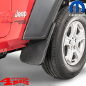 Splash Guard Pair Front from Mopar Jeep Wrangler JL year 18-19