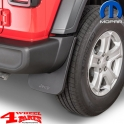 Splash Guard Pair Rear from Mopar Jeep Wrangler JL year 18-20