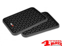 Floor Liner Set Rear Black All Terrain for Jeep and SUV