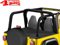 Duster Deck Cover Bestop Black Denim TJ year 97-02 Soft Top