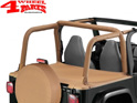 Duster Deck Cover Bestop Spice Denim TJ year 97-02 Hardtop