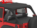 Duster Deck Cover Bestop Black Diamond Wrangler JK year 07-18 4-doors
