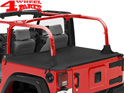Duster Deck Cover Bestop Black Diamond Wrangler JK year 07-18 2-doors