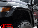 Fender Flares 4 Piece 3,8cm wide with TÜV Wrangler JL year 18-20