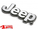 Jeep Emblem Injection Molded Plastic with Chromed Jeep Sign