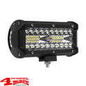 "LED Lightbar 7"" (16,5 cm) 120 Watts for 12 or 24 Volt"