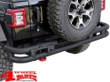 Rear Tube Bumper Black Rock Jeep Wrangler JL year 18-19