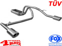 Stainless Steel Muffler Double Tailpipe Grand Cherokee 01-04 2,7 + 4,7 L
