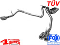 Stainless Steel Muffler TÜV Grand Cherokee WH year 05-10 3,0 CRD
