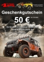 Jeep Gift Coupon 50 Euro