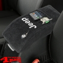 "Arm Rest Pad Cover Velour with ""Jeep"" Logo Wrangler TJ year 01-06"