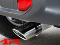 Exhaust Tip Stainless Steel 88mm Wrangler JL 8-20 2,2 CRD + 2,0 + 3,6 L