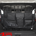 Cargo Net behind the Rear Seats with Bags Wrangler JK JL year 07-20 4-doors
