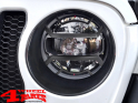 Head Light Guard Set ABS Black Matt Wrangler JL year 18-20