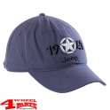 "Base Cap 1941 Jeep Star embroidery in ""Vintage Indigo"""