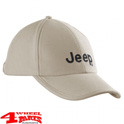 "Base Cap JS with Jeep Logo in ""Light Grey Vintage Indigo"""