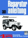 Repair Manual Jeep CJ-5, CJ-6, CJ-7 on 124 Pages in German