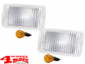 Turn Signal Light White Replacement Wrangler TJ year 97-06