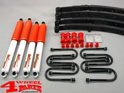 Suspension System Lift Kit from Trailmaster with TÜV +65mm Lift CJ year 76-86