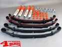 Suspension System Lift Kit from Trailmaster with TÜV +50mm Comfort Suzuki Samurai SJ 410 SJ 413 year 1985- Long Body Gas Model