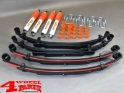 Suspension System Lift Kit from Trailmaster with TÜV +50mm Comfort Suzuki Samurai SJ 410 SJ 413 year 1985- Diesel