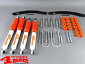 Suspension System Lift Kit from Trailmaster with TÜV +70mm Comfort Suzuki Samurai SJ 410 SJ 413 year 1985- Gas Model