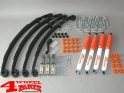 Suspension System Lift Kit from Trailmaster with TÜV +80mm Comfort Suzuki Samurai SJ 410 SJ 413 year 1985- Gas Model