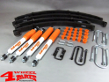 Suspension System Lift Kit from Trailmaster with TÜV +60mm Nissan Patrol K160 + W160 year 80-83