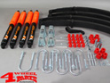 Suspension System Lift Kit Combat from Trailmaster with TÜV +100mm Lift Jeep CJ year 76-86