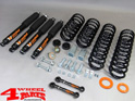 Lift Kit Combat Black TÜV +50mm Wrangler JK year 07-18 4-door 2,8 L CRD