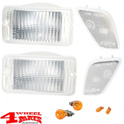 Turn Signal Light Kit Front White Wrangler TJ year 97-06