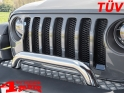 Front Protection Bar TÜV Stainless Steel Wrangler JL JT year 18-21
