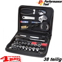 Tool Pocket 38 pieces - Auto Set - with inch and metrical tooling